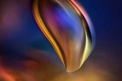 72. Pęcherzyk powietrza w alkoholu poliwinylowym / Air bubble in polyvinyl alcohol
